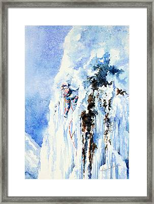 Because It's There Framed Print by Hanne Lore Koehler