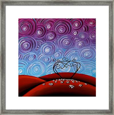 Because You're Mine Framed Print by Cindy Thornton