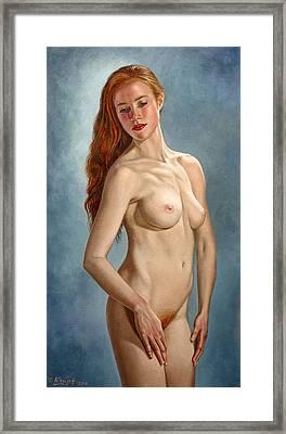 Becca 419 Framed Print