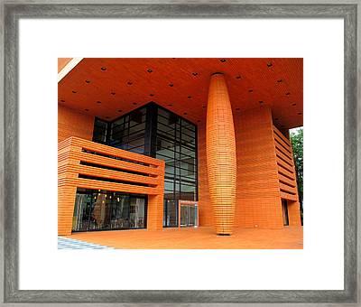 Bechtler Museum Of Modern Art Framed Print by Randall Weidner
