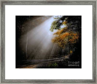 Framed Print featuring the photograph Beckoning by Brenda Bostic