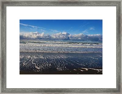 Beckoning Sea Framed Print