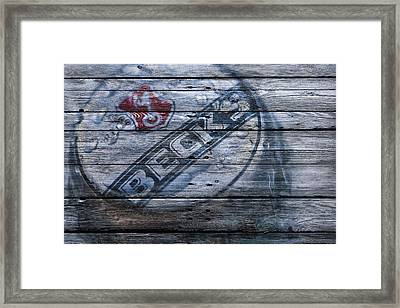 Becks Beer Framed Print by Joe Hamilton