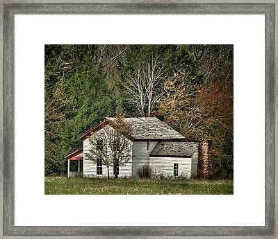 Becky Cable House Framed Print