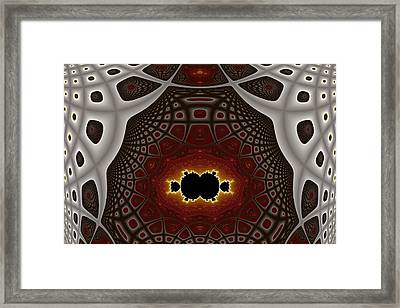 Becoming Detached Framed Print by Mark Eggleston