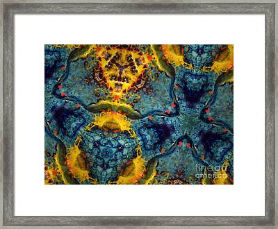 Becoming Nothing Framed Print