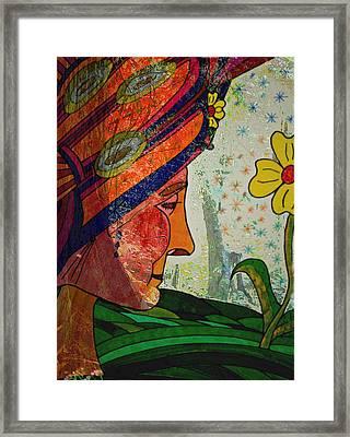 Becoming The Garden - Garden Appreciation Framed Print