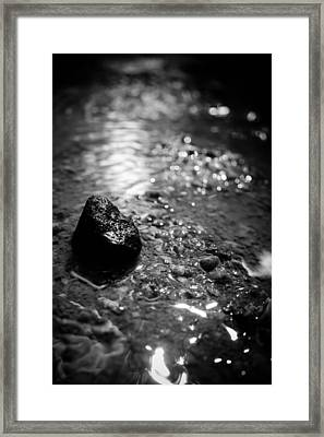 Becoming The Stream Framed Print by Jessica Brawley
