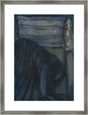 Bed I. Framed Print by Oni Kerrtu