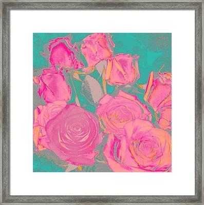 Bed Of Roses I Framed Print