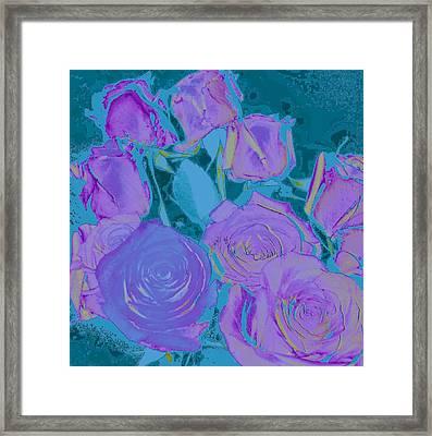 Bed Of Roses II Framed Print