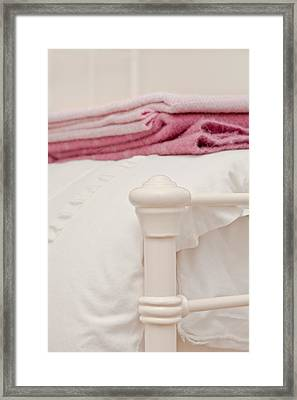 Bed Post Framed Print