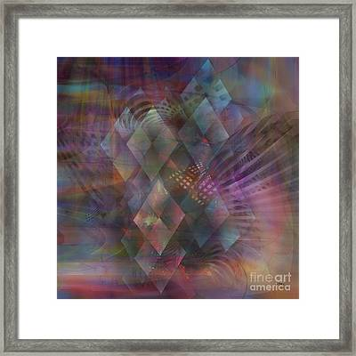 Bedazzled - Square Version Framed Print by John Robert Beck