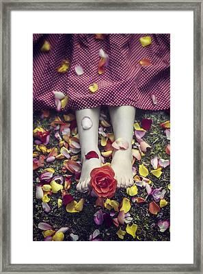 Bedded In Petals Framed Print by Joana Kruse