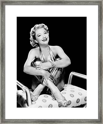 Bedevilled, Anne Baxter, 1955 Framed Print by Everett