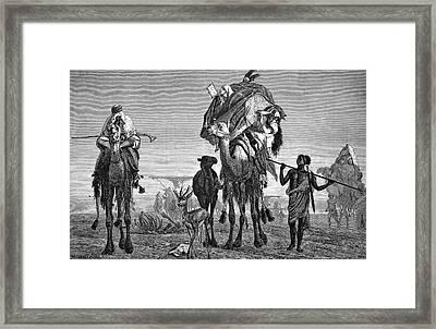Bedouin Nomads Framed Print by Bildagentur-online/tschanz