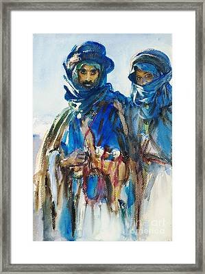Bedouins Framed Print