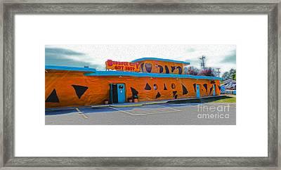Bedrock City - Gift Shop Framed Print by Gregory Dyer
