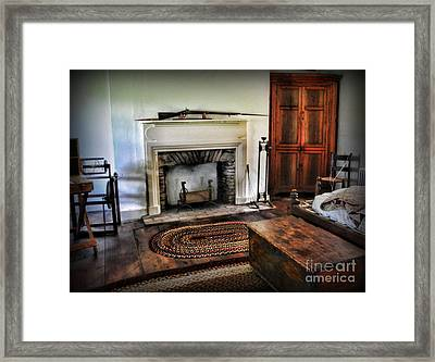 Bedroom - Colonial Style Framed Print by Paul Ward