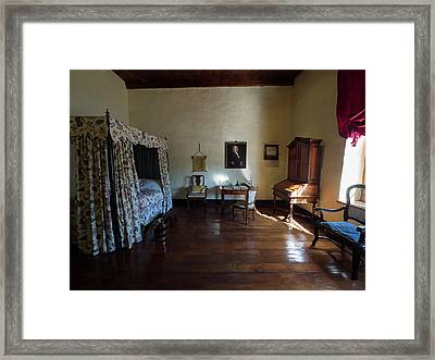 Bedroom Of Blettermanhuis, Stellenbosch Framed Print by Panoramic Images