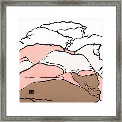 Bedscape Two Am Framed Print