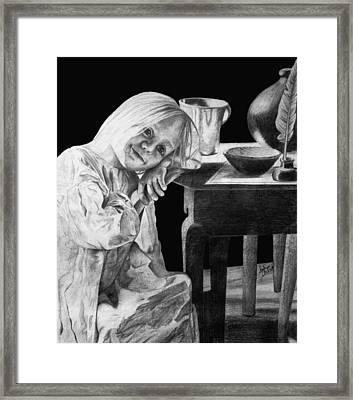 Bedtime Framed Print