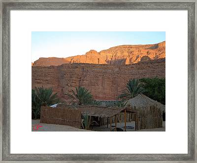 Beduin Camp In The Sinai Desert Egypt Framed Print by Colette V Hera  Guggenheim