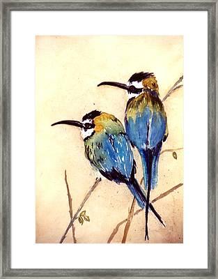 Bee Catchers Framed Print