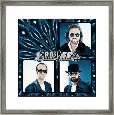 Bee Gees I Framed Print