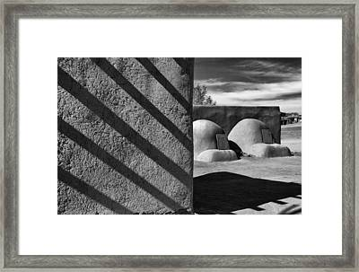 Bee Hive Ovens Framed Print