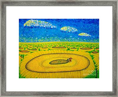 Framed Print featuring the painting Bee by Viktor Lazarev