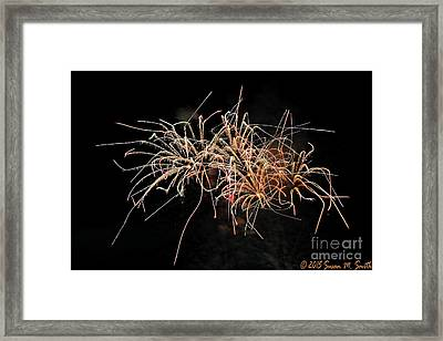 Bee Works Framed Print by Susan Smith