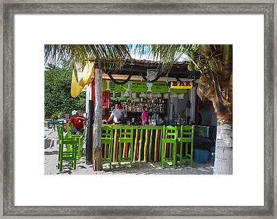 Beech Bar Framed Print