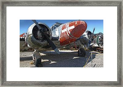 Beech Expeditor Uc-45 - 01 Framed Print by Gregory Dyer