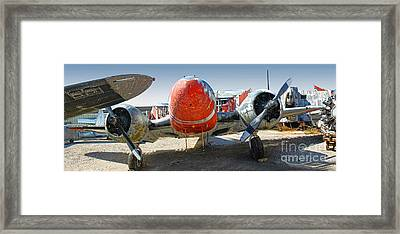 Beech Expeditor Uc-45 - 05 Framed Print by Gregory Dyer