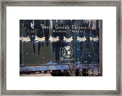 Beech Hauler Framed Print