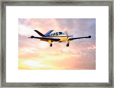 Beechcraft Bonanza Framed Print by James David Phenicie