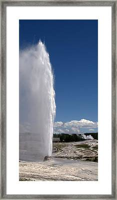 Beehive Geyser - Yellowstone National Park Framed Print