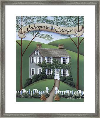 Beekeeper's Cottage Framed Print