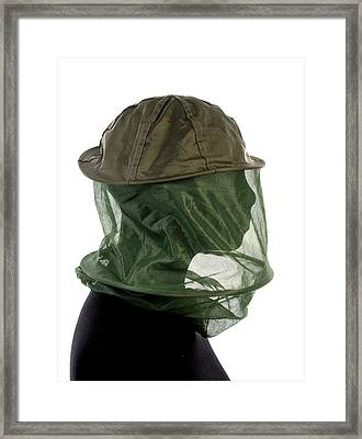 Beekeepers Hat Framed Print