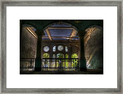 Beelitz Arches Framed Print by Nathan Wright