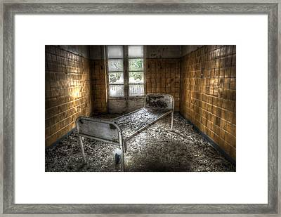 Beelitz Bed Framed Print