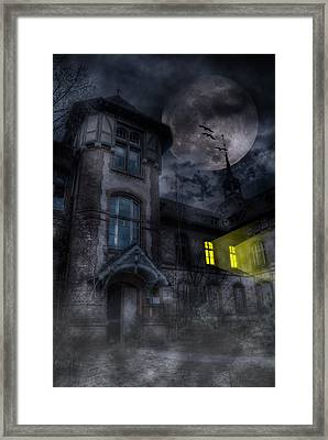 Beelitz Horror Nights Framed Print by Nathan Wright