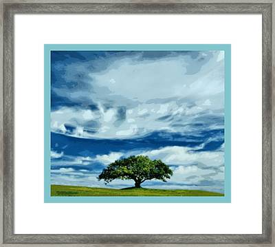 Been Here All Alone Framed Print by Tracie Howard