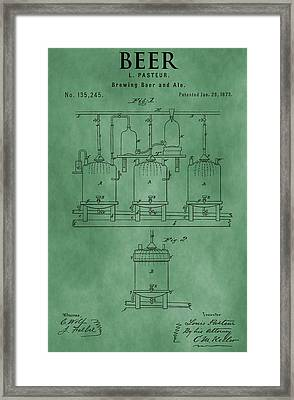 Beer Brewing Apparatus Framed Print by Dan Sproul