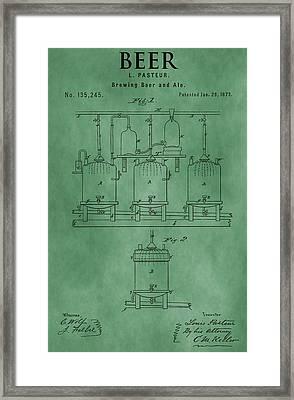 Beer Brewing Apparatus Framed Print