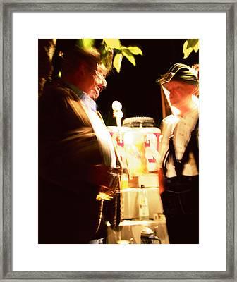 Beer Fest Framed Print
