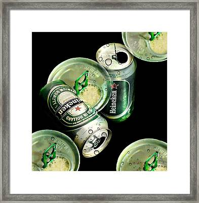 Beer Here Framed Print by Diana Angstadt