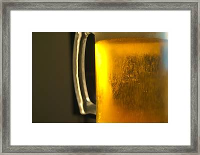 Beer Framed Print by John Rossman