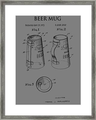 Beer Mug Framed Print by Dan Sproul